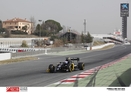 Formula One Test Days al Circuit